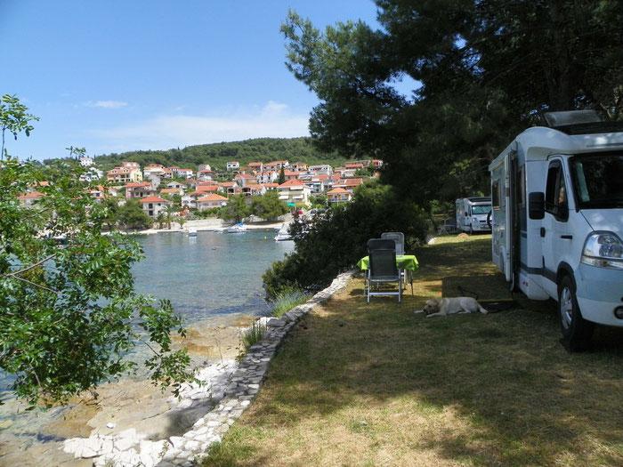 gleich zwei so wunderschöne Mobile ;-)))                    gepflegte Anlage mit tollem platzeigenen Strand