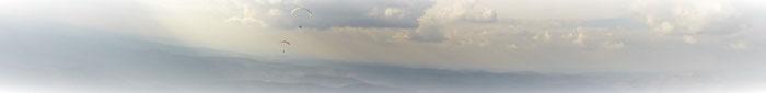 Bild: Gleitschirm Tandemfliegen Schwarzwald - Schwarzwald-Paragliding