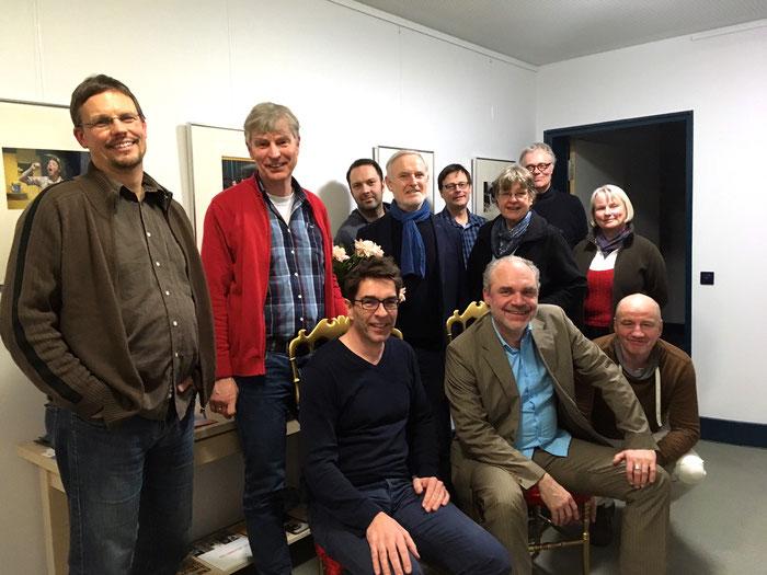 Am 30.01.2017 haben zwölf Mitglieder die KI Coerde gegründet (Nicht auf dem Bild: Hanni Lampken.).