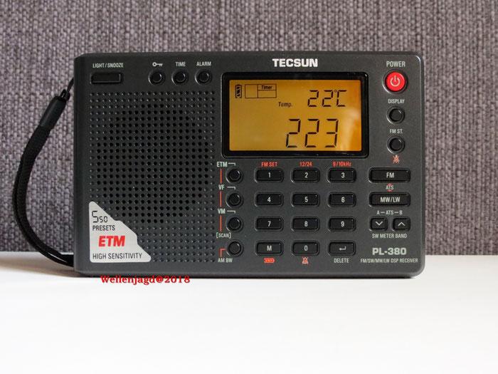 TECSUN Weltempfänger PL380