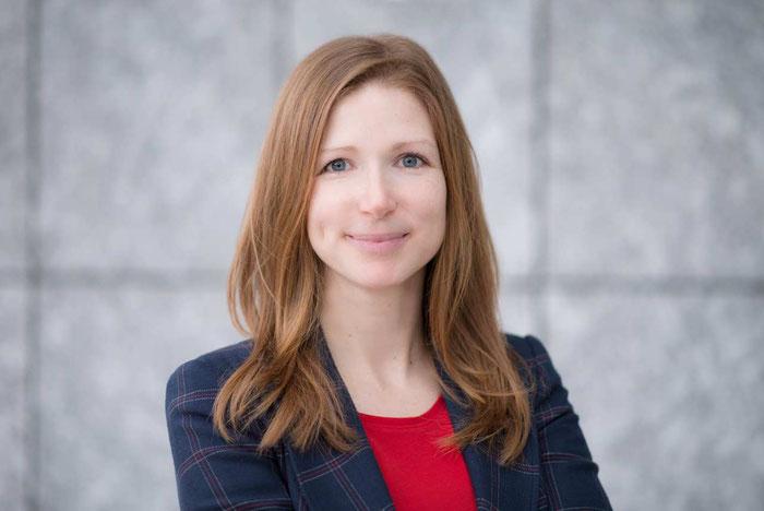Sandra Mühlberg von der Öffentlichen Sachversicherung in Braunschweig