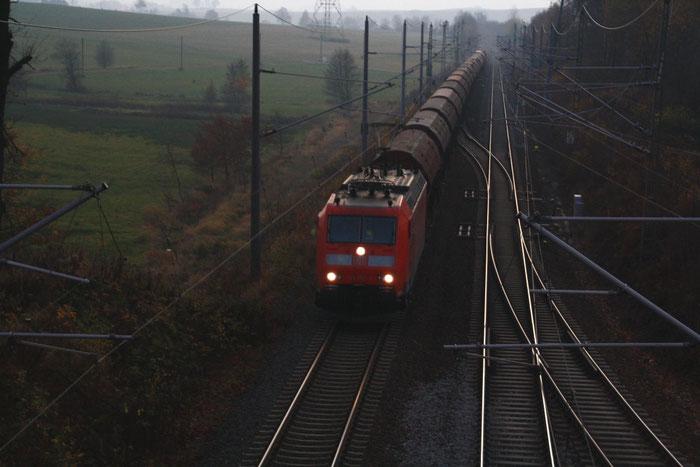 185 158 mit Getreidegz in Klingenberg-Colmnitz