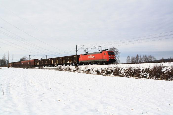152 065 mit Gz kurz vor DKC