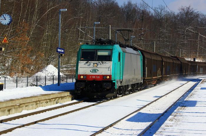 186 128 mit Papierzug für Weißenborn in Klingenberg-Colmnitz