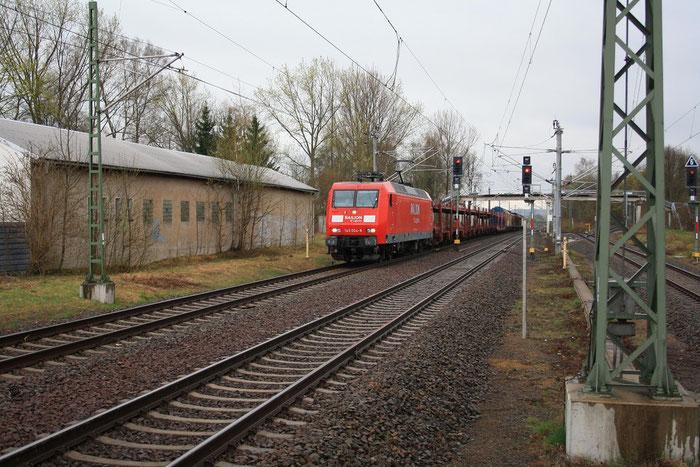 145 004 in Klingenberg-Colmnitz (Bild mit Erlaubnis des Erstellers eingestellt)
