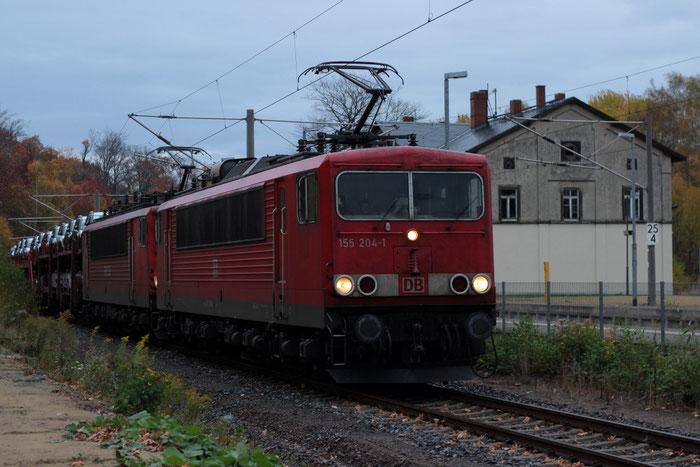 155 204 und 155 125 mit Autovollzug in DKC
