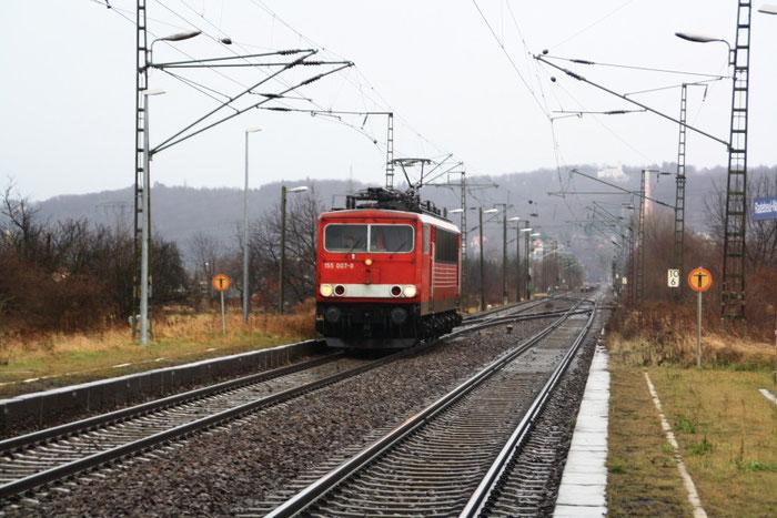 155 007 Lz in Radebeul Naundorf