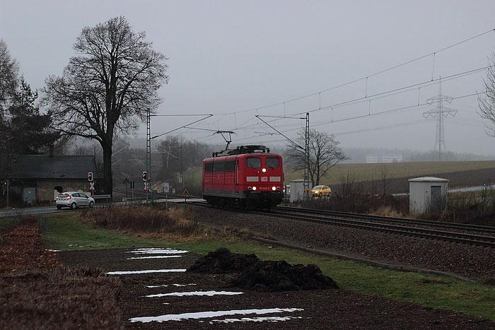 151 045 am BÜ Colmnitz