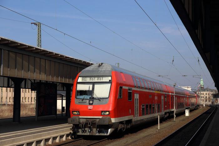 RE 3 in Zwickau