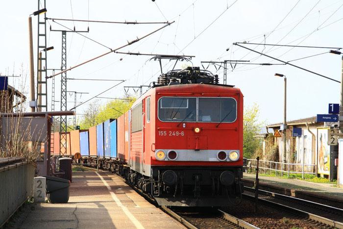 155 249 mit Containergz in Dresden Cotta