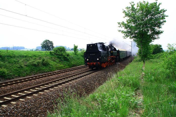 65 1049 mit sdz von Chemnitz nach Pirna am BÜ Colmnitz