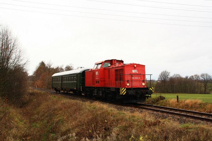 202 822 mit Überführung nach Chemnitz bei Kleinwaltersdorf