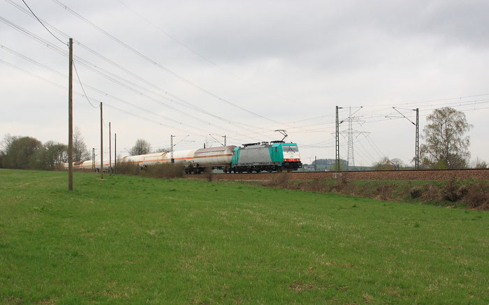186 128 mit Gaskesselzug bei Colmnitz
