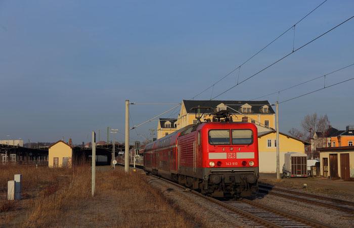 143 910 mir RB 30 in Freiberg