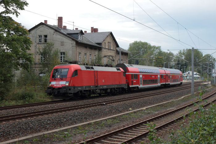 182 019 mit RB in Klingenberg