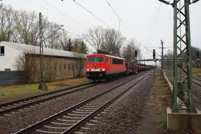 155 263 mit Gz in Klingenberg Colmnitz (Bild mit Erlaubnis des Erstellers eingestellt)