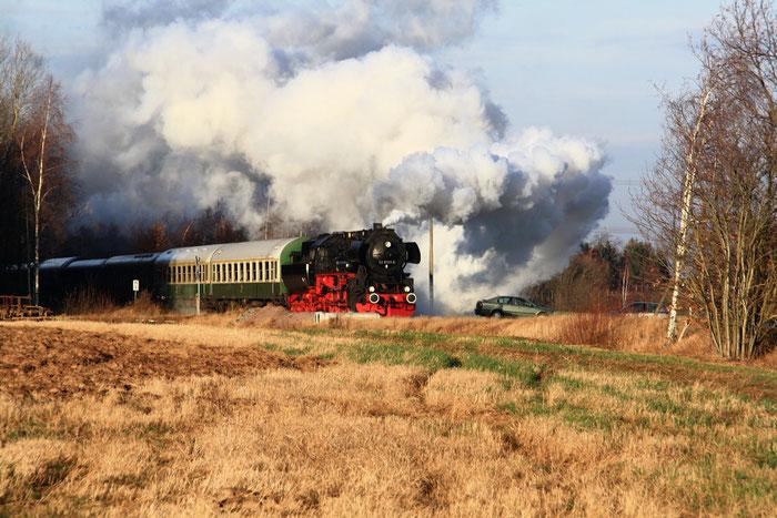 52 8131 mit Sdz bei Kleinwaltersdorf