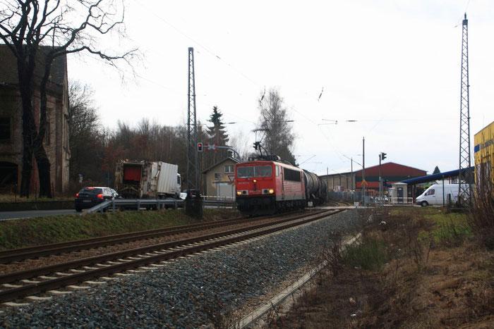 155 033 in Döbeln Nord