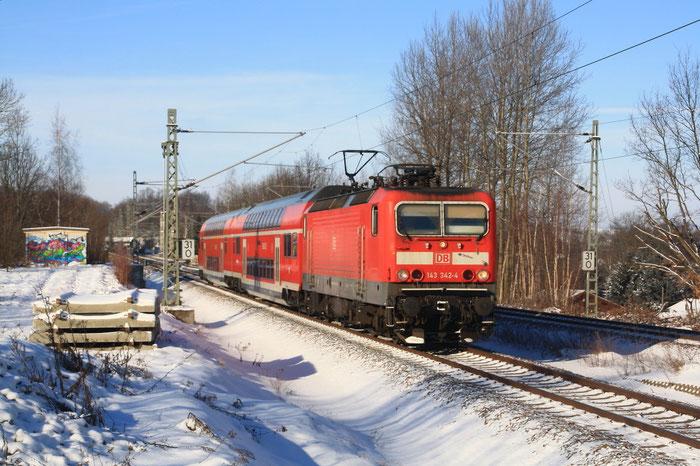 143 342 mit RB in Niederbobritzsch