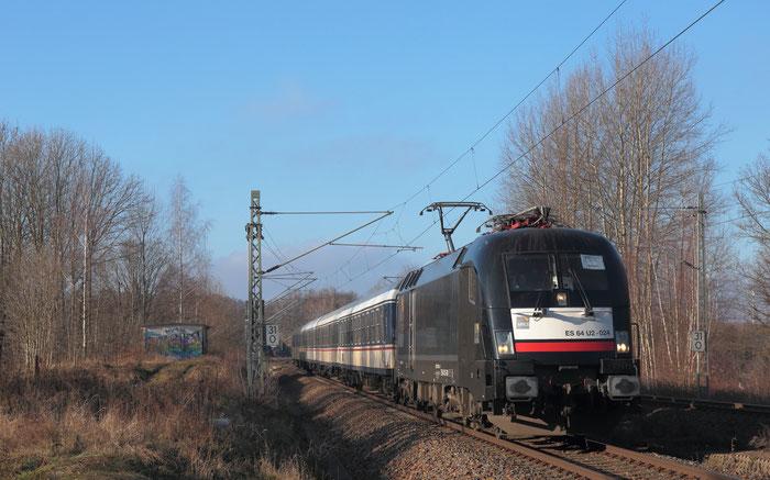 182 524 mit RE 3 nach Dresden in Niederbobritzsch