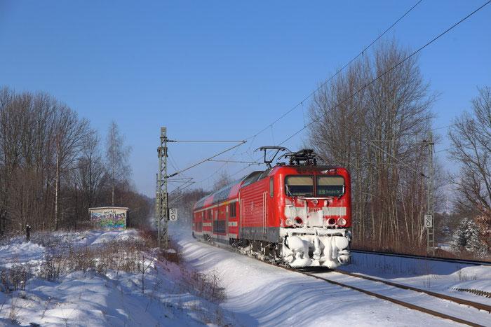 143 919 mit RB 30 in Niederbobritzsch
