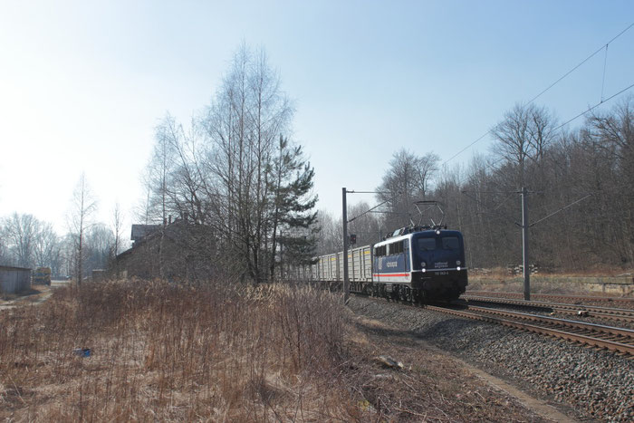 110 043 der Pressnitztalbahn (ex 110 511; ex 139 134)