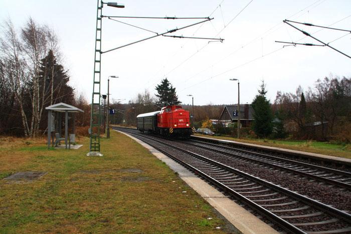 202 822 mit Überführung nach Chemnitz in Kleinschirma