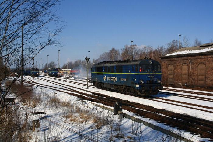 Loktreffen in Horka Güterbahnhof