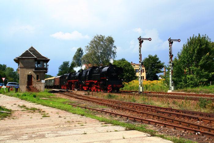 65 1049 und 35 1019 mit Sdz in Deutschenbora