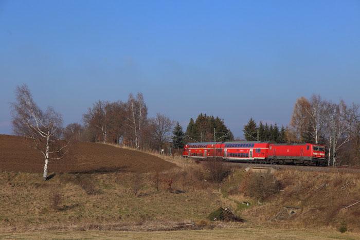 143 893 mit RB 30 in Niederbobritzsch