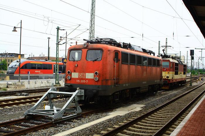 115 205 in Dresden Hauptbahnhof