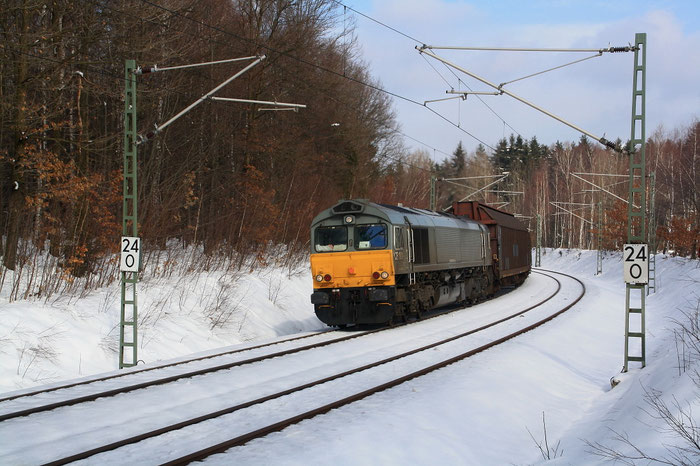 266 106 mit Vollzug kurz vor Klingenberg-Colmnitz
