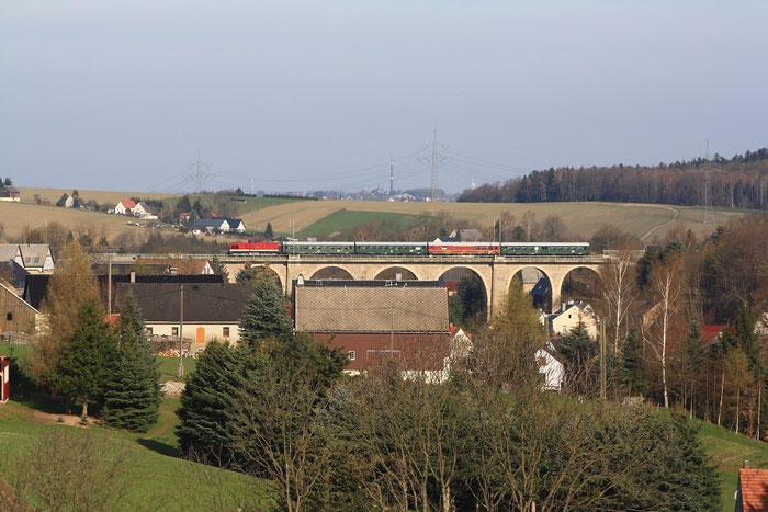 112 565 mit Sdz auf dem Colmnitzer Viadukt