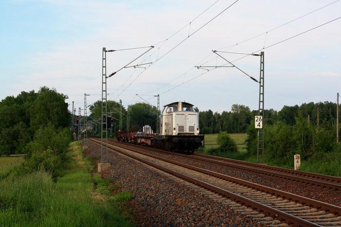 111 001 mit Weichentransport von Dresden nach Meißen via Freiberg bei Colmnitz