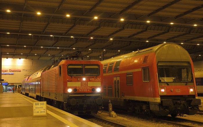 Die letzte RB 45 von Chemnitz nach Riesa