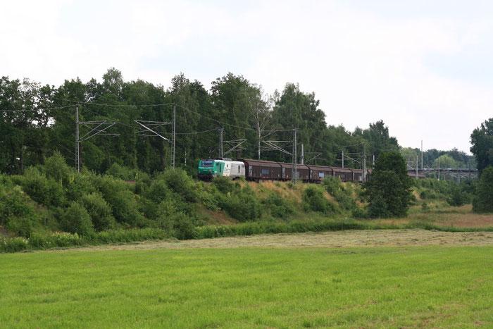 437026 mit Papierzug nach Weißenborn bei Colmnitz