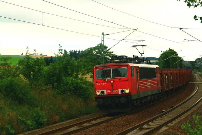 155 159 mit Gz bei Colmnitz