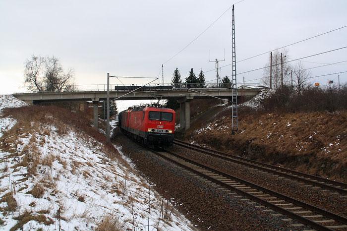 MEG 143 mit Kesselzug in Zschaitz