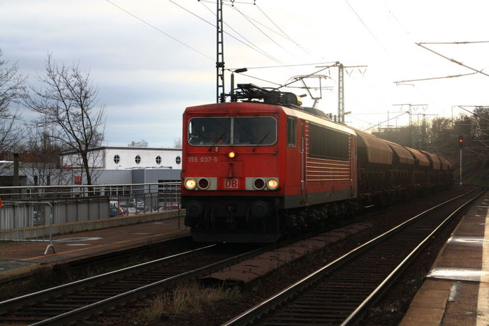 155 037 mit Gz in DD-Cotta