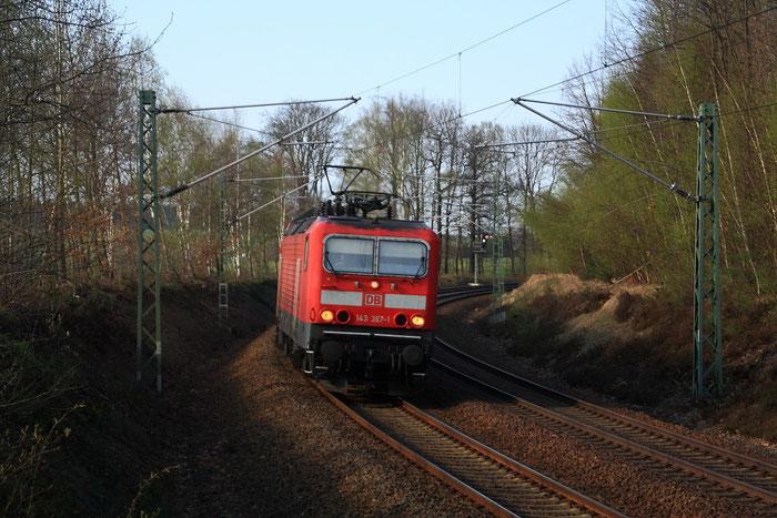 143 367 mit RB nach Dresden
