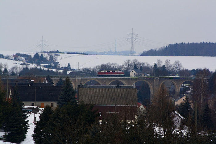 118 770 auf dem Colmnitzer Viadukt