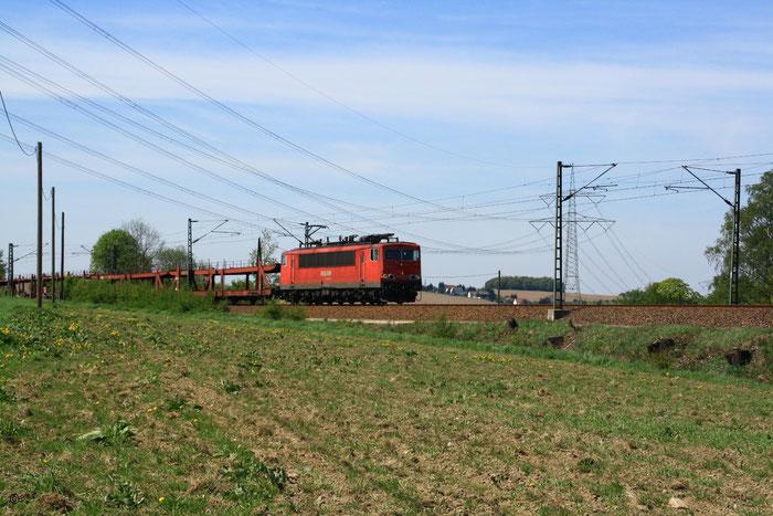 155 104 mit Gz bei Colmnitz