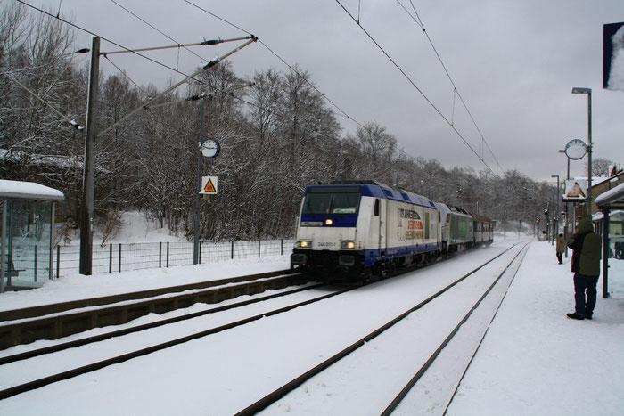 246 011 mit einer Testfahrt in Klingenberg