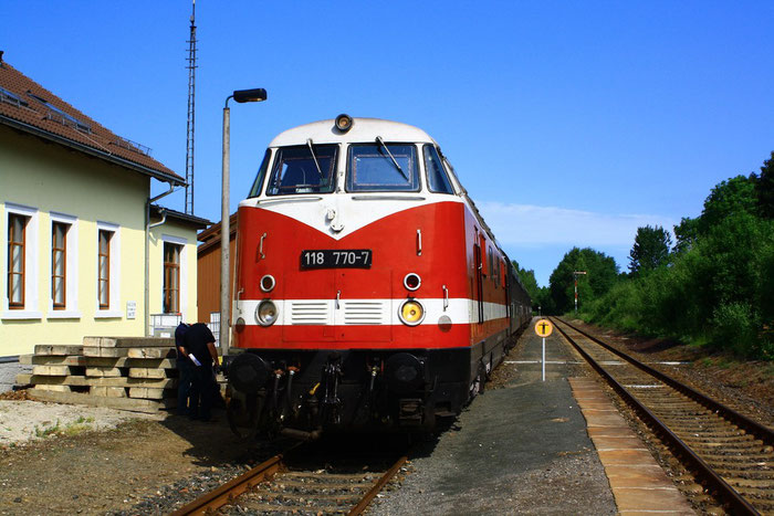 118 770 mit Sdz in Berthelsdorf