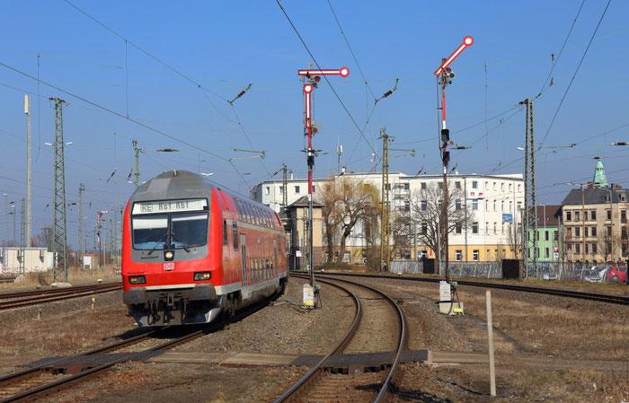 RE 3 in Zwickau Hbf