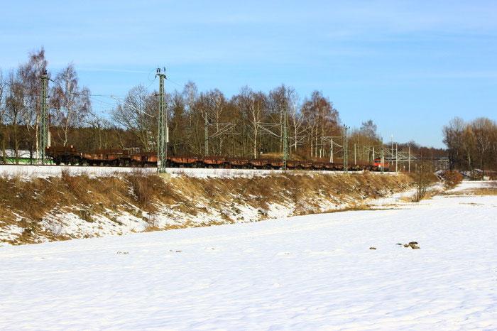 ...in Richtung Sächsisch/Böhmische Grenze