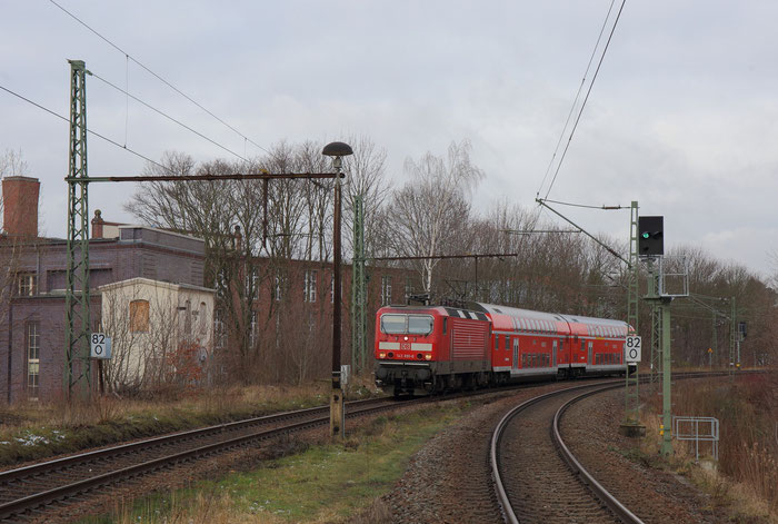 143 891 mit RB 30 in Chemnitz Süd