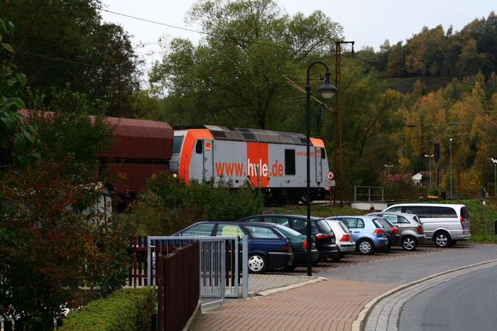 285 001 mit Gz in Rübeland...