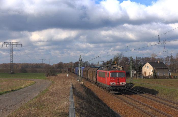 155 206 mit GA 47309 vor Priestewitz