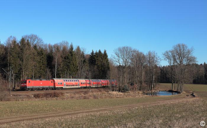 143 932 mit RB 30 bei Klingenberg